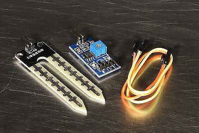 Soil Moisture Sensor And Soil Hygrometer Detection Module For Arduino