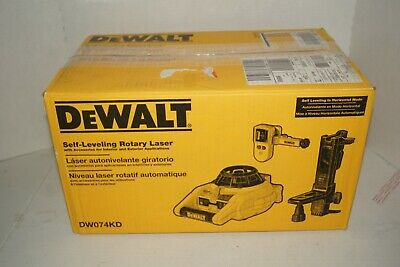 Dewalt 150 Ft. Red Self-leveling Rotary Laser Level With Detector Clamp...