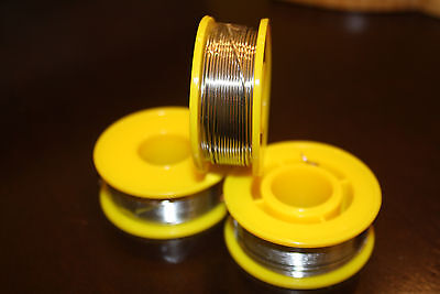 6040 Tinlead Flux 2.0 0.8mm Rosin Flux Solder Wire 3 Rolls 150 Gms