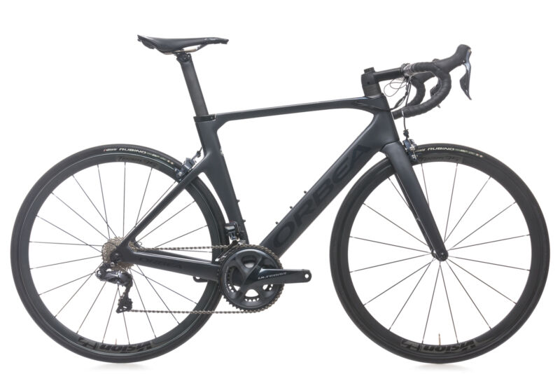 2018 Orbea Orca Aero M20i Team Road Bike 53cm Medium Carbon Shimano Ultegra Di2