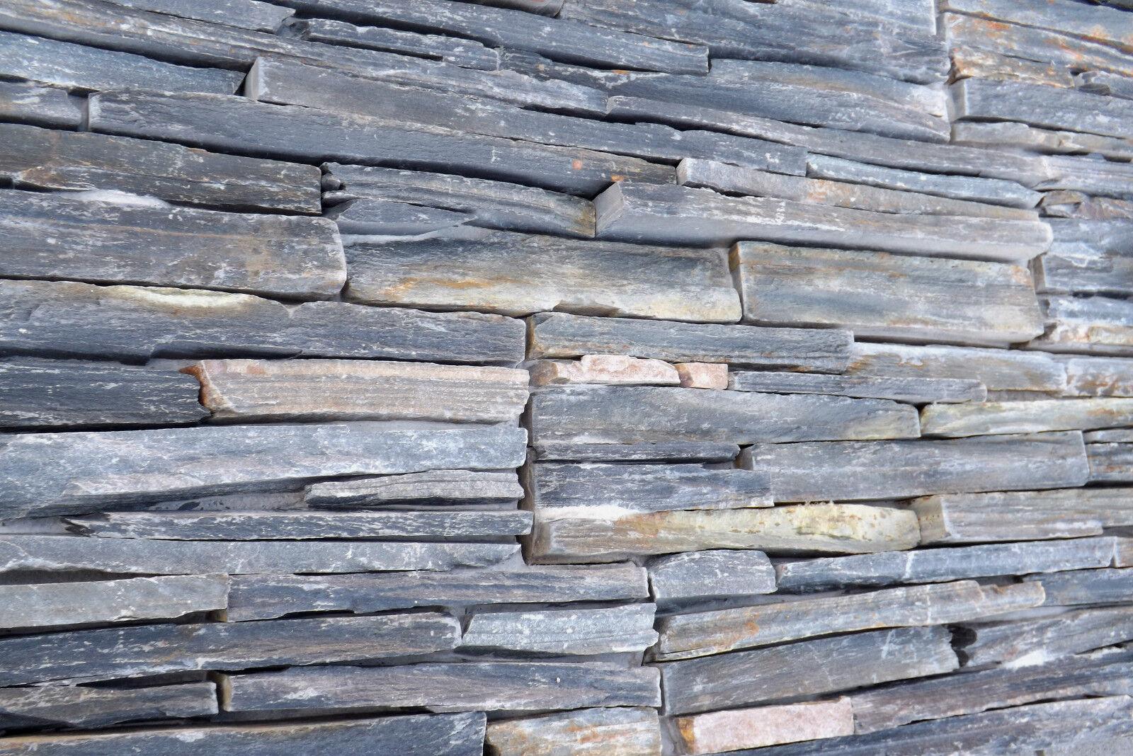 naturstein verblender sockelverblender wandverkleidung schiefer rustikal eur 8 90. Black Bedroom Furniture Sets. Home Design Ideas
