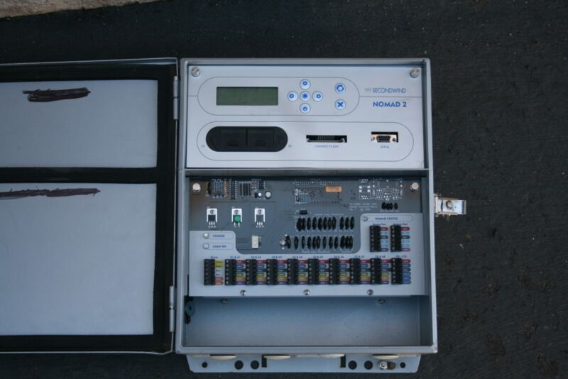 SecondWind Nomad 2 Second Wind Data Logger for Wind Resource Assessment
