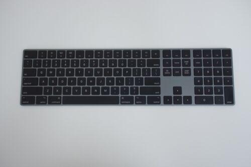 Apple Wireless Magic Keyboard w/ Numeric Keypad Space Gray (MRMH2LL/A) A1843