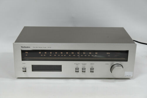 Technics ST-S1 AM/FM Stereo Tuner Component - Vintage 1980