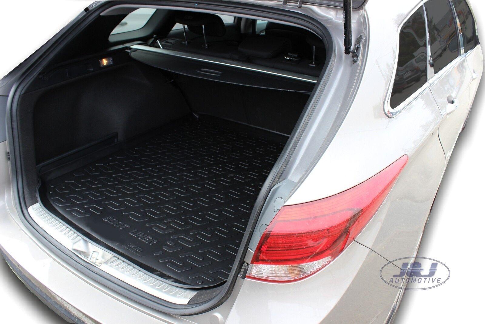 Premium Rubber Boot Mat Compatible with Peugeot 508 SW 2011-2018 J/&J AUTOMOTIVE