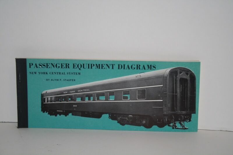 New York Central System Passenger Equipment Diagrams Book