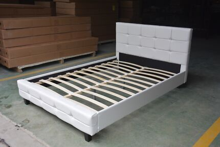 Brand new high quality PU leather bed frame from $230