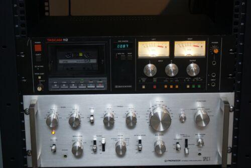 Tascam 112 Professional Grade Cassette Recorder.New Belts,Recap Please Read.