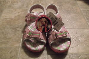 Barbie sandals Size 1 New with Tags