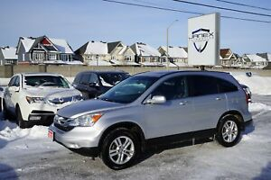 2010 Honda CR-V EX-L ONE OWNER | BLACK HEATED LEATHER INTERIO...