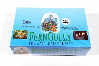 1992 Dart Ferngully The Last Rainforest Trading Card Box (48 Packs)