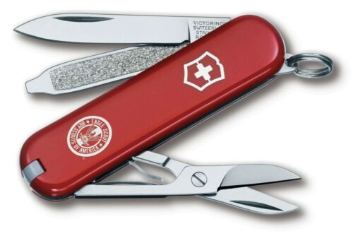 BOY SCOUT OFFICIAL VICTORINOX SWISS ARMY EAGLE SCOUT CLASSIC SD 7 FUNCTION KNIFE