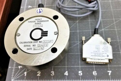 """Crane Stationary Torque Transducer ¼""""TorquWrench Tester Calibrator135.6Nm [A9B4"""