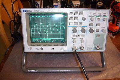 Agilent Hp 54615b Digital Oscilloscope 500mhz 1gss