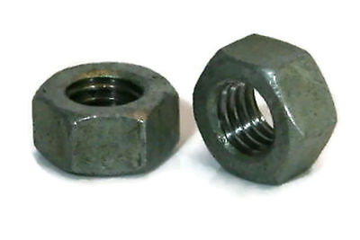 "Hex Finish Nuts Hot Dipped Galvanized -1/4""-20 UNC- Qty-250"