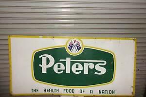 PETERS ICE CREAM SIGN Ballarat Central Ballarat City Preview