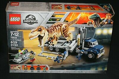 LEGO JURASSIC WORLD 75933 T. REX TRANSPORT (2018) NEW SEALED JURASSIC PARK