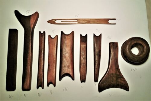 Amazing Antique Set of Wooden Tools