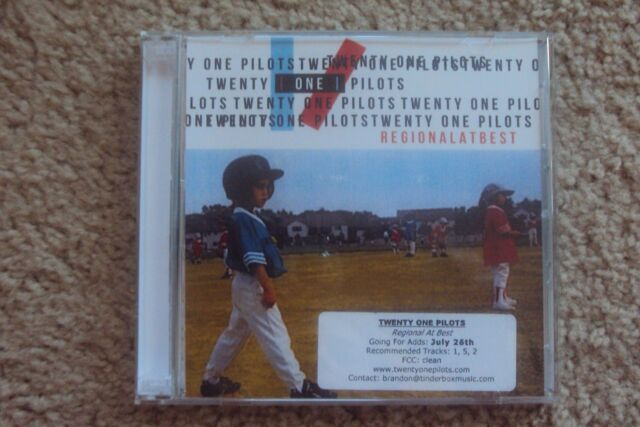 regional at best digipak by twenty one pilots cd ebay