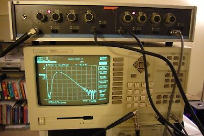 Hp 35660a Fft Acoustic Vibration Spectrum Network Dynamic Signal Analyzer 102khz