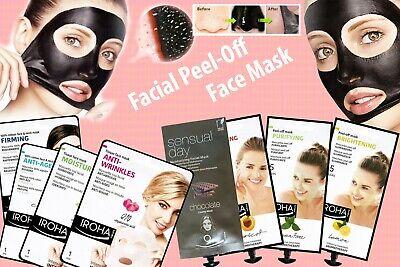 Iroha Facial Peel-Off, Nature Face Mask