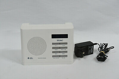 TEAC DAB100W DAB+ / RDS / FM Portable Radio for sale  Shipping to Canada