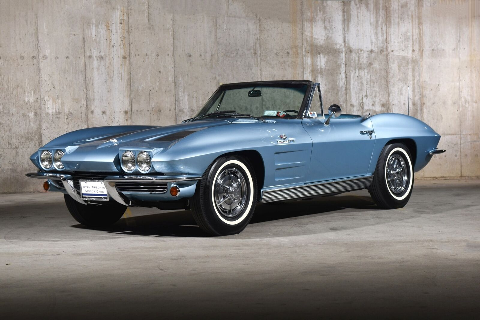 1963 Blue Chevrolet Corvette   | C2 Corvette Photo 5