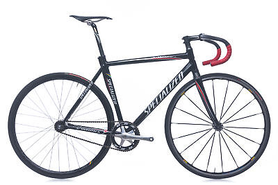 2009 Specialized S-Works Langster Track Bike 56cm Large Aluminum Fixed Gear