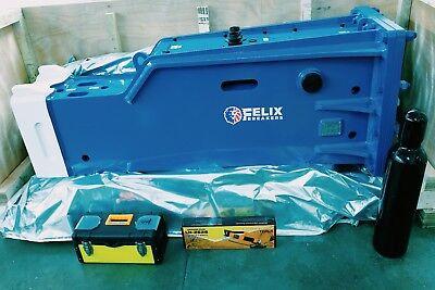 Felix Hydraulic Hammer Breaker Box Type Excavator 20 To 24 Ton Chisel Diam 5.52