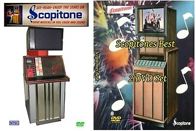 Scopitone BEST Classics 2 DVD set music video from 16mm film collection