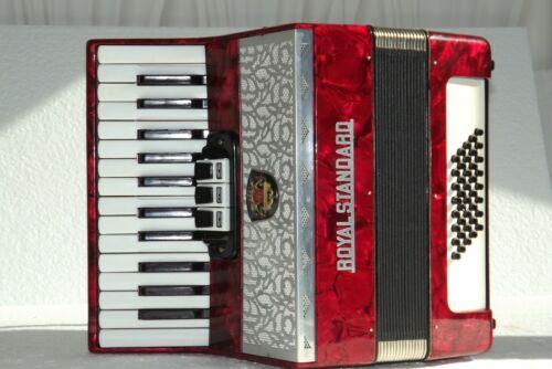 Piano accordion akkordeon fisarmonika ROYAL STANDARD  40 bass