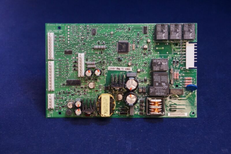 Ge Main Control Board For Ge Refrigerator 200d2260g006 Green
