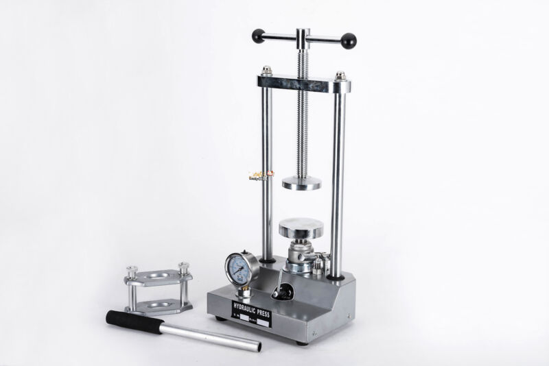 Dental Laboratory Hydraulic Press Lab Presser Dental Flask Pressure