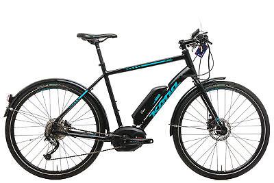 "2018 Kona Dew-E Electric Bike 55cm 27.5"" Aluminum Bosh Shimano Disc"