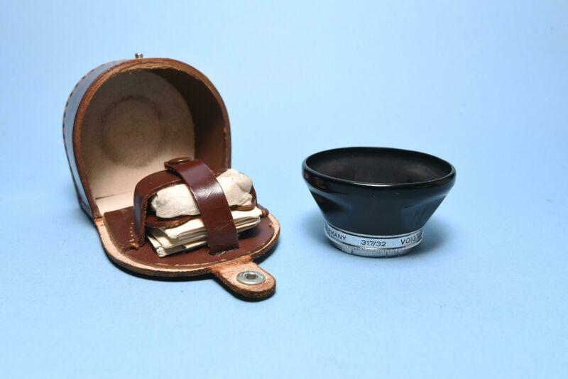 Voightlander 32mm Lens Hood West Germany - 310/32