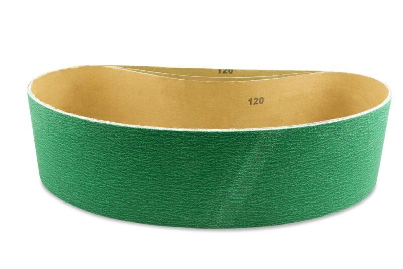2 X 42 Inch 80 Grit Metal Grinding Zirconia Sanding Belts, 6 Pack