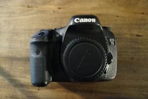 Used Canon EOS 7D camera body only