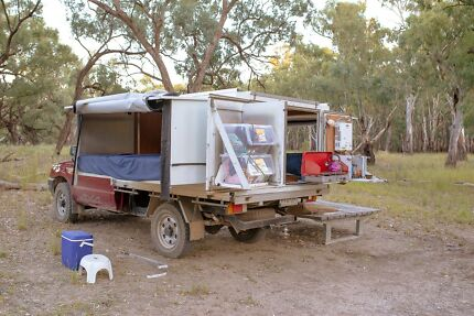 Slip on Slip off camper ideal self sufficient get away unit