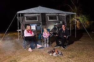 MYTCA Ezytrail Stirling LX Forward fold Off Road Camper Trailer Fyshwick South Canberra Preview