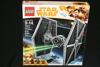 LEGO STAR WARS 75211 IMPERIAL TIE FIGHTER (2018) NEW SEALED