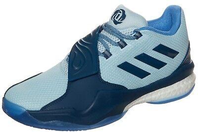 Adidas D Rose EngleWood Boost Herren Basketball Schuhe Basketballschuhe blau ()