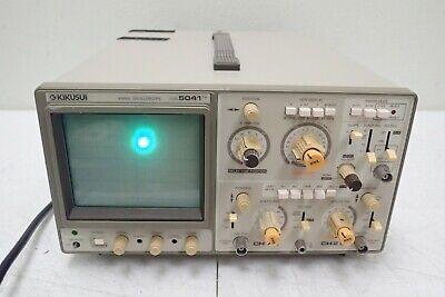 Kikusui Cos-5041 40 Mhz 2-channel Oscilloscope