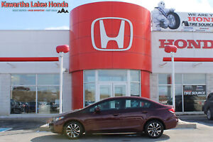 2015 Honda Civic EX/ INCLUDES WINTER TIRE PACKAGE!!