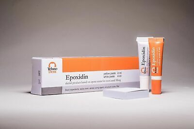 Tehnodent Epoxidin Dental Sealer Based On Epoxy Amine Resin Same As Ah Plus Dent