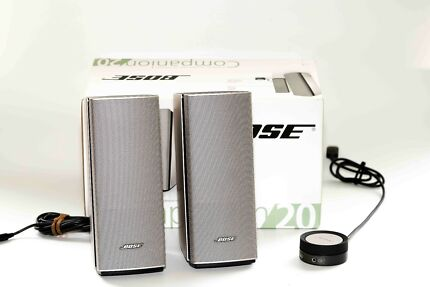 Bose Companion® 20 multimedia speaker system.