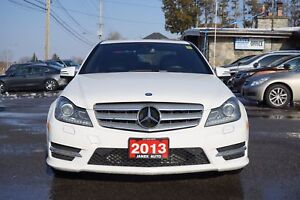 2013 Mercedes-Benz C-Class ACCIDENT FREE   BLACK LEATHER INTE...