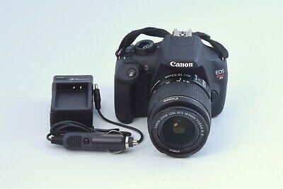 Canon EOS Rebel T5 18.0 MP HD Digital SLR Camera + 18-55mm EF-S Lens Kit