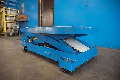 1100 Lb Southworth Hydraulic Electric Scissor Lift Table 20 X40 Table 37 High