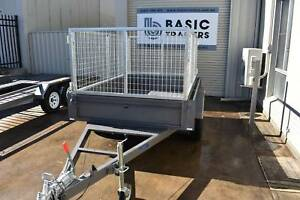 NEW 8X5 TANDEM WITH CAGE - AUSTRALIAN MADE Holden Hill Tea Tree Gully Area Preview