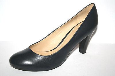 GEOX neuwertiger schicker Damen Schuh Pumps elegant blau 39 UK 6 °1404